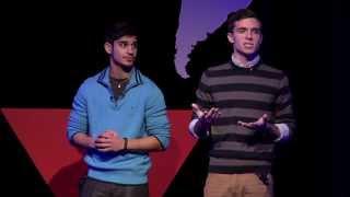 Understanding mental illness through empathic storytelling: Jake Morgan and Neal Walia at TEDxOU