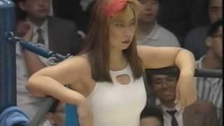北斗晶 vs. 紅夜叉 1/1 ジャパン・グランプリ'93 Part 3 第6試合 93.6....