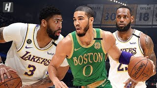 Boston Celtics vs Los Angeles Lakers - Full Game Highlights | February 23, 2020 | 2019-20 NBA Season
