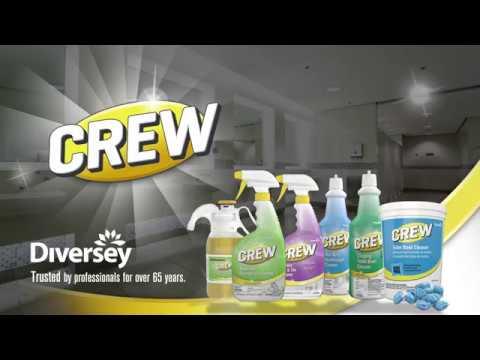 Crew Bathroom Cleaners Diversey Brands Youtube