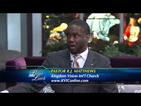 Pastor RJ Matthews on TBN with Pastor Rod Parsley