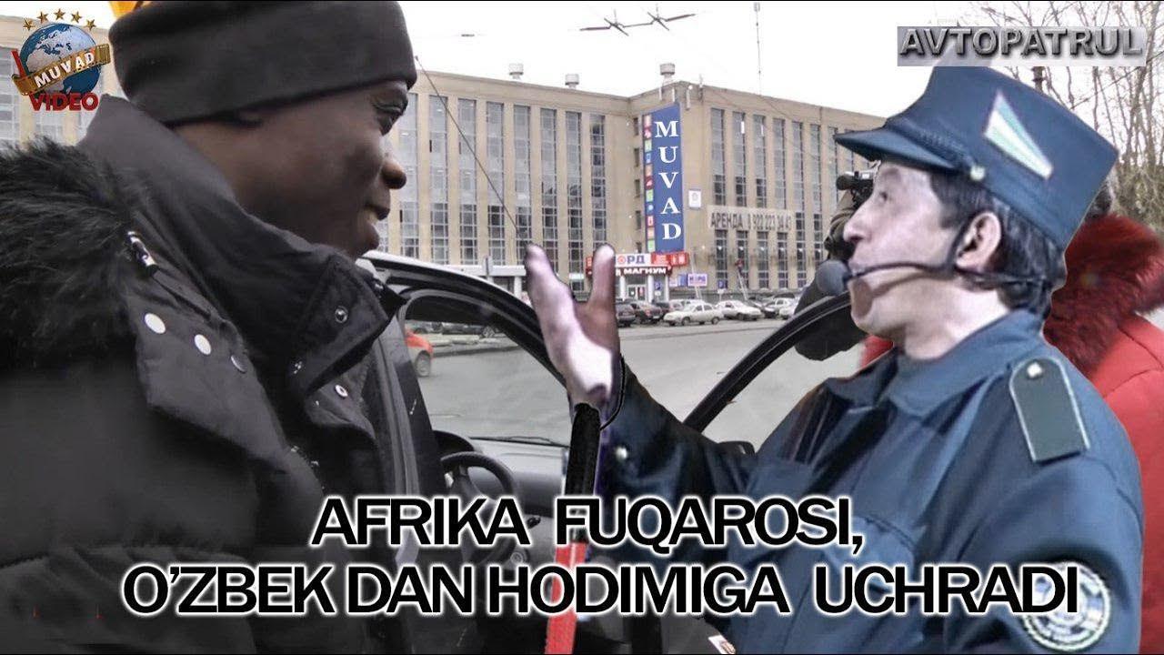 Obid Asomov - Afrika fuqarosi, O`zbek DAN hodimiga uchradi