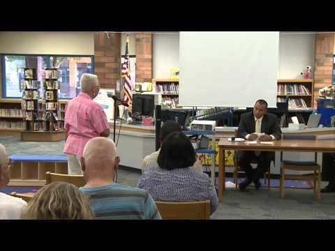Phoenix Community Budget Hearing at Villa de Paz Elementary School, District 5
