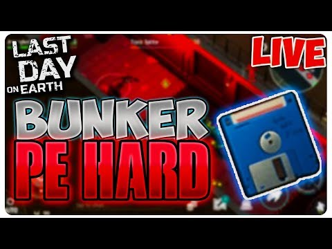 BUNKER PE HARD MODE | Last Day on Earth  [LIVE#67]