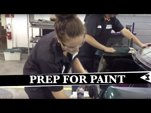 How To Prep A Car For Primer and  Paint - Eastwood Mustang Project