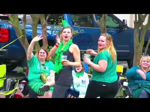 2018 Savannah St. Patrick's Day: The view from the Savannah Morning News float