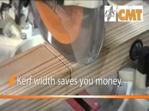 Δίσκος κοπής ξύλου CMT ITK για φαλτσόδισκους