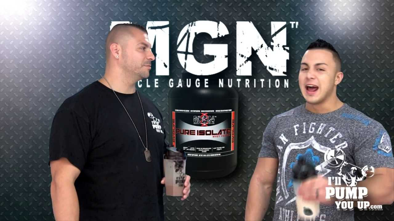 Muscle Gauge Nutrition Pure Isolate