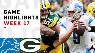 Lions vs. Packers Week 17 Highlights