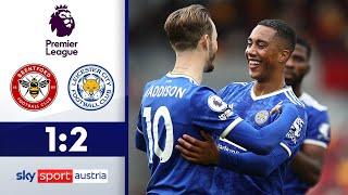 Mega Tor von Tielemans | FC Brentford - Leicester City 1:2 | Highlights - Premier League 2021/22