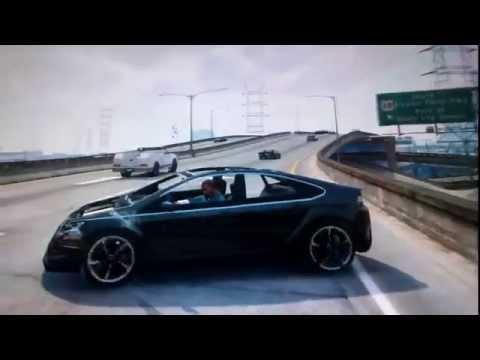 Xbox360 - Start Play GTA V !