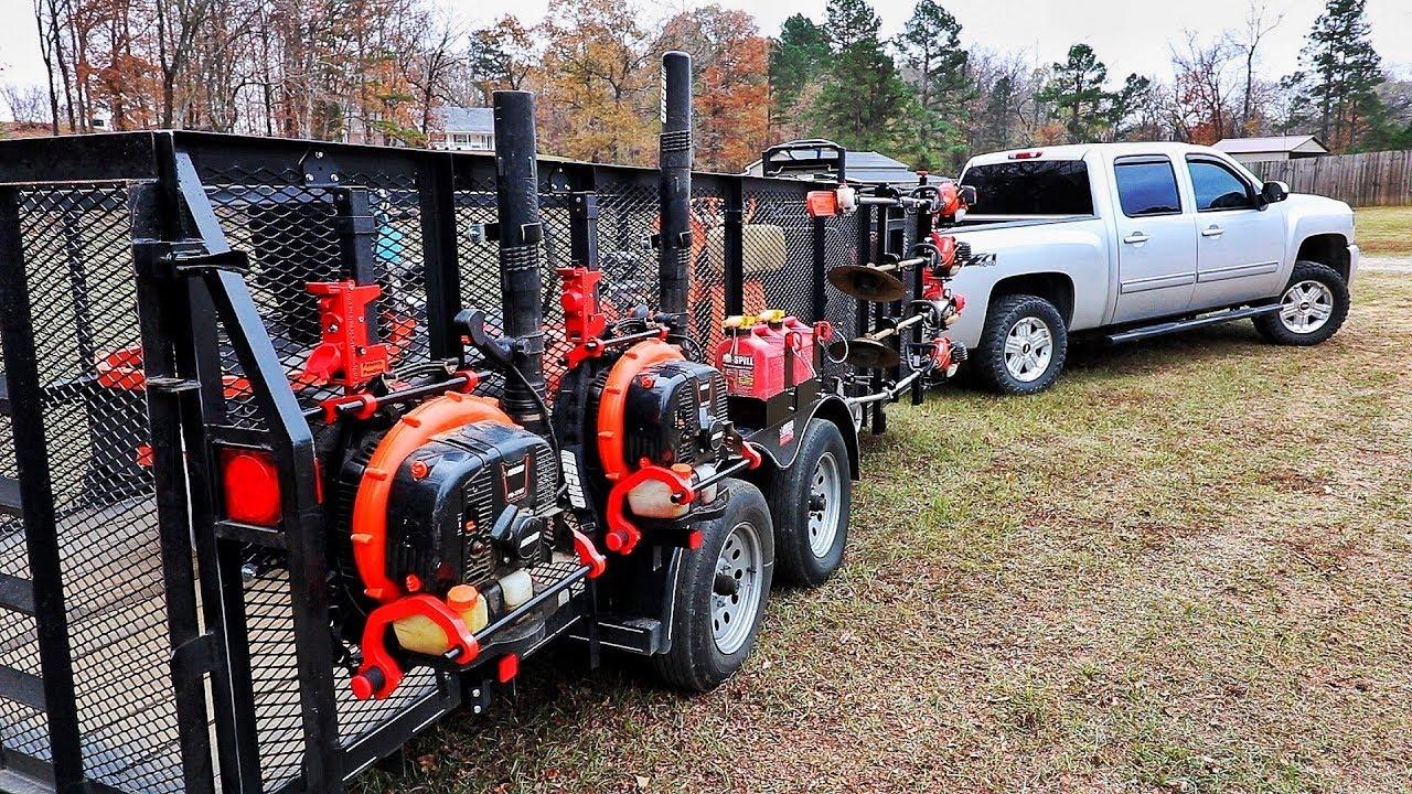 Landscaping Trailer Gas Can Holder | www.topsimages.com