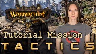 Warmachine Tactics Tutorial Mission - WarGamer Girl