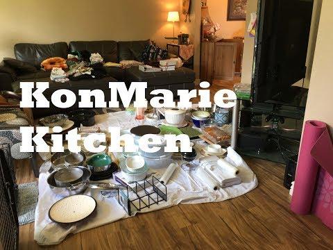 KonMarie Organizing Kitchen Pots and Pans