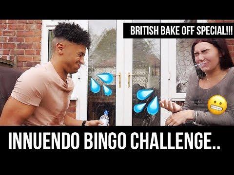 INNUENDO BINGO CHALLENGE - THE GREAT BRITISH BAKE OFF SPECIAL!
