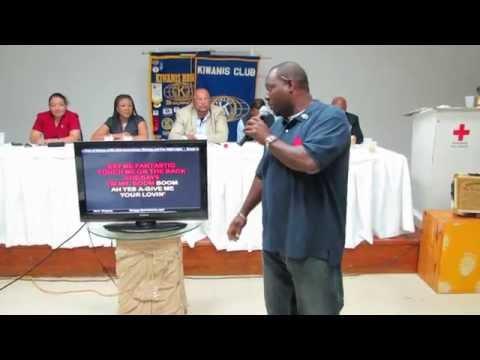 Collie Sounds :) Kiwanis Club of Nassau A.M's 33rd Anniversary Meeting, Karaoke and Fun Night PT 5