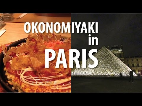 First Night In Paris, France (Japanese Meal, Louvre Pyramid At Night)