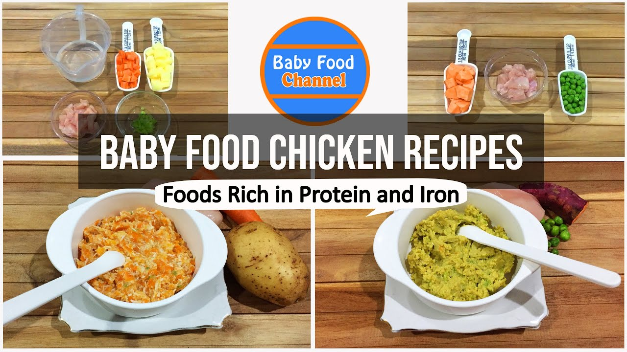 Baby Food Chicken - Foods Rich in Protein and Iron