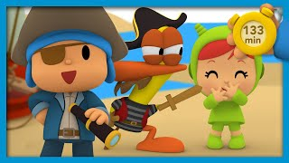 ☠️ POCOYO AND NINA - Pirates on Board! [133 minutes] | ANIMATED CARTOON for Children | FULL episodes