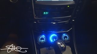 Lexus IS-F Dash Mod - Custom LED Gauge Pod for SMD VM-1 / OM-1 / TM-1