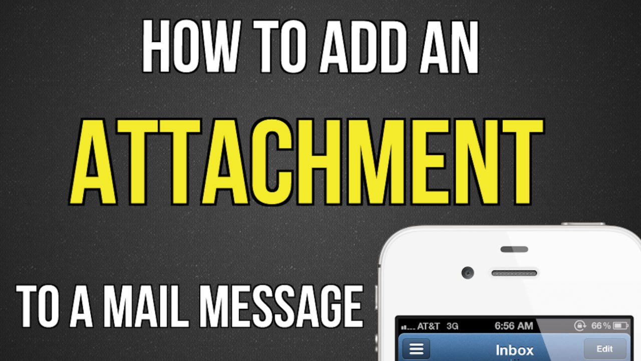 Add Attachment To Iphone Email how to add an attachment to a mail message on iphone or ipad