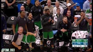 Boston Celtics Defensive Highlights vs Orlando Magic (03/16/2018)