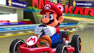 """Mario Kart 8 Deluxe"" All Nitro Tracks 150cc Full Game with Mario [1/3]"