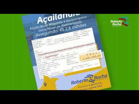 Senador Roberto Rocha consegue a liberação de quase R$ 12 milhões de reais para Açailândia!!!