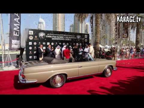 Emirates Classic Car Festival Awards 2014
