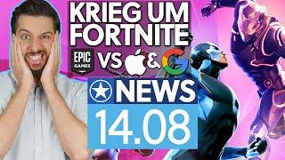 Streit zwischen Epic, Apple & Google eskaliert - News