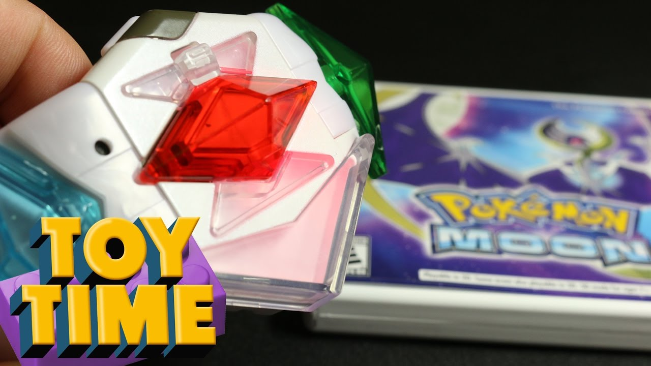 Toy Time Plays With Pokémon Sun And Moon's Z-Ring