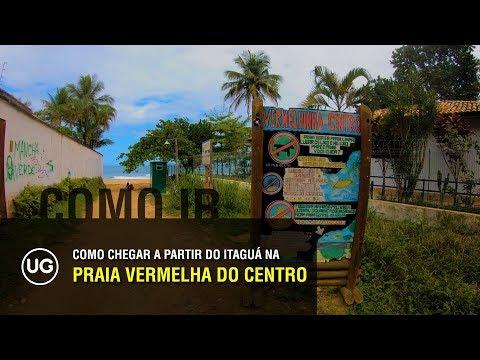 Praia Vermelha do Centro, Ubatuba SP - Onde fica e como chegar a partir do Itaguá