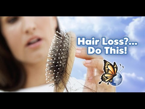 How to: Stop Hair Loss & Regrow Strong Healthy Hair Naturall