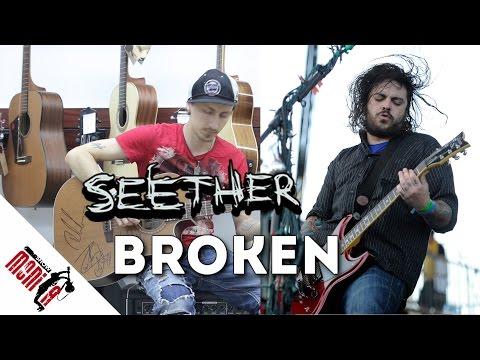 show MONICA Разбор #71 - Seether feat Amy Lee - Broken [Как играть]