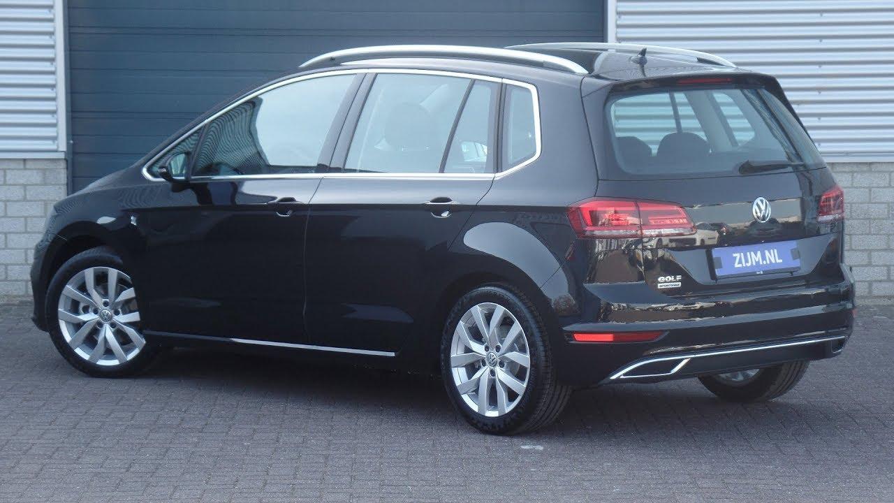 volkswagen new sportsvan 2018 highline deep black pearl. Black Bedroom Furniture Sets. Home Design Ideas