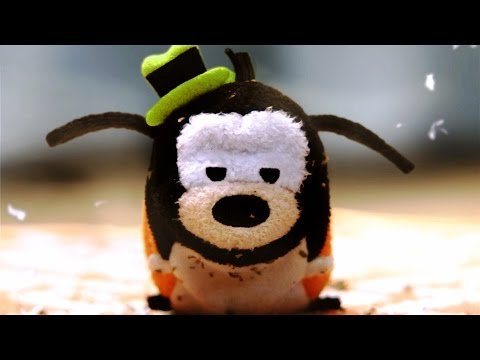 Goofy Plush Runs From Crazy Cat | Tsum Tsum Kingdom Episode 1 | Disney