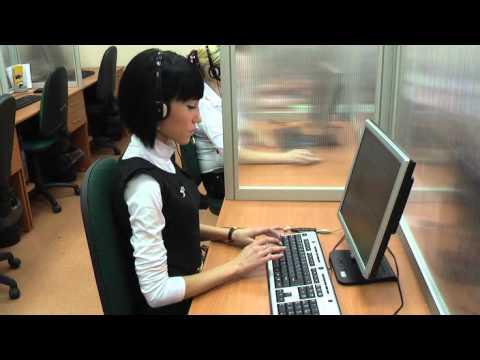 Пример обработки входящего звонка оператором колл центра