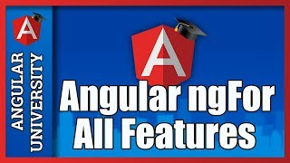 💥 Angular ngFor - Learn All Features