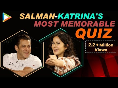 Salman Khan & Katrina Kaif's MOST ENTERTAINING FIGHT Ever | Quiz | Bharat