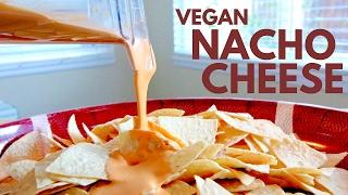 Easy Vegan Nacho Cheese