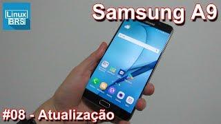 Neste vídeo mostro que teve uma atualização para o Samsung Galaxy A...
