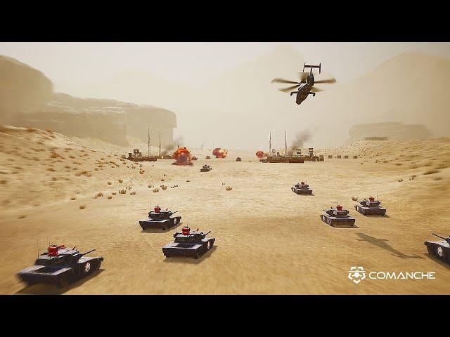 Comanche Update #3 - Teaser