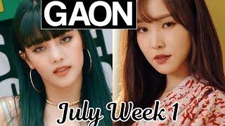 [TOP 50] Gaon Korean Music Chart 2019 [July Week 1]