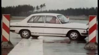 Audi 80 - Braking test - 1972