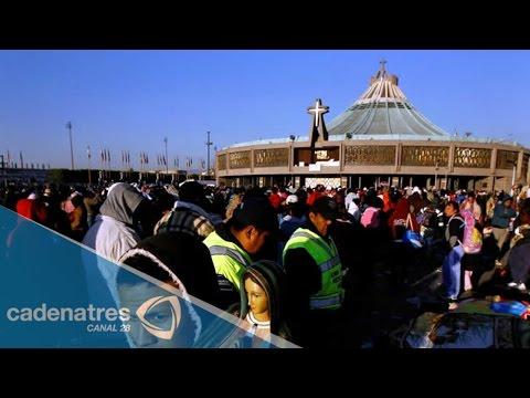 Millones de peregrinos visitan a la Virgen de Guadalupe