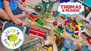 Томас і друзі | Томас поїзд дерев'яна залізниця здивування захопити мішок 2 | іграшкові поїзди для дітей з Запалом