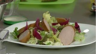 Готовим на скорость: тёплый салат с колбасками (29.01.16)