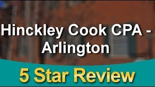 Hinckley Cook CPA - Arlington Arlington          Remarkable           Five Star Review by Jared...