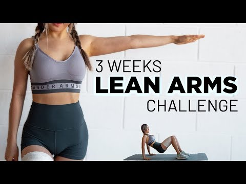 Lean Arms Workout Challenge | Lose Arm Fat (No Equipment)