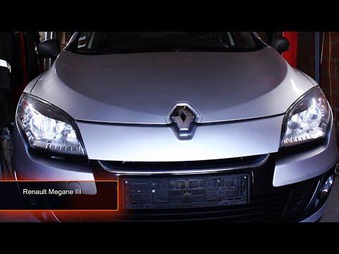 Замена масла, топливного и воздушного фильтров Renault megane III